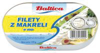 Mackerel fillets in oil 170g