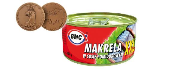Medal Europejski 2013 - Makrela w sosie pomidorowym