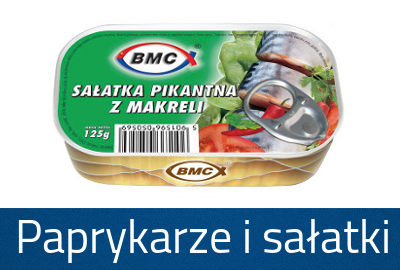 Paprykarze i sałatki
