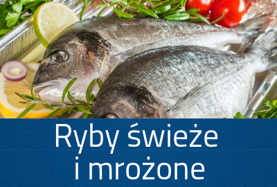 Ryby świeże i mrożone