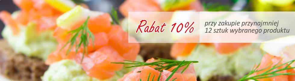 Rabat 10% przy zakupie od 10 sztuk wybranego produktu